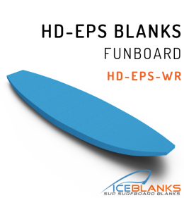 HD-EPS FUNBOARD BLANKS