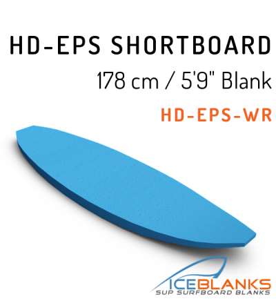 HD-EPS SHORTBOARD Blank 5'-9""