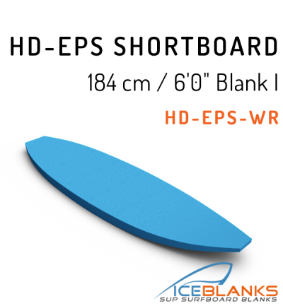 "HD-EPS SHORTBOARD Blank 6'-0"" I"