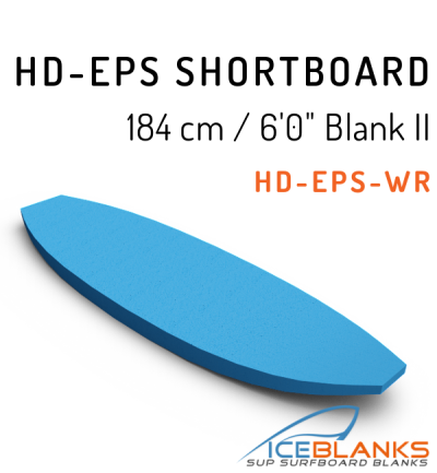 "HD-EPS SHORTBOARD Blank 6'-0"" II"