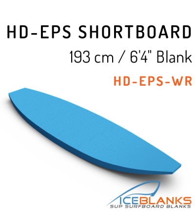 HD-EPS SHORTBOARD Blank 6'-4""