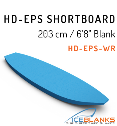 HD-EPS SHORTBOARD Blank 6'-8""