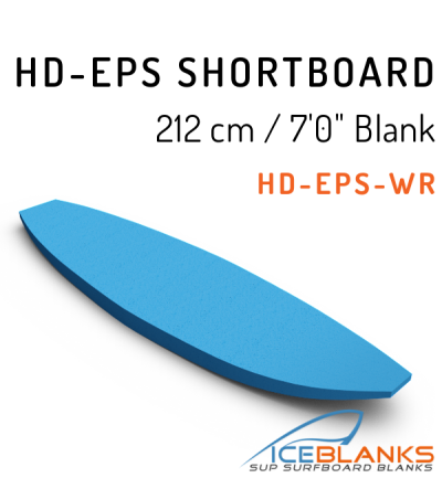 "HD-EPS SHORTBOARD Blank 7'-0"""