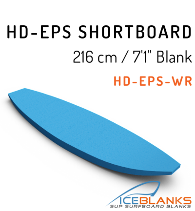 HD-EPS SHORTBOARD Blank 7'-1""