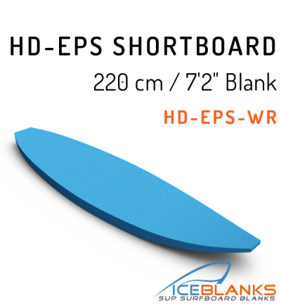 HD-EPS SHORTBOARD Blank 7'-2""