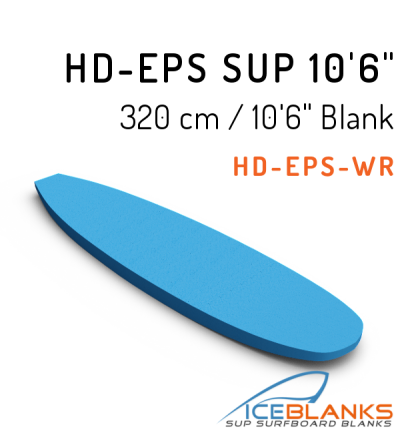 HD-EPS SUP Blank 10'-6""