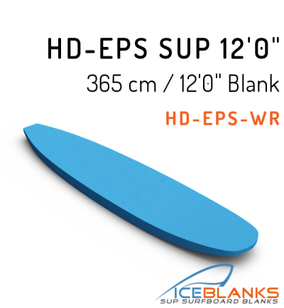 HD-EPS SUP Blank 12'-0""