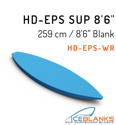 """HD-EPS SUP Blank 8'-6"""""""