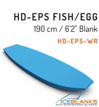 "HD-EPS FISH/EGG BOARD Blank 6'-2"""
